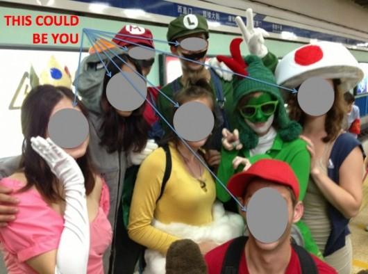 Halloween Subway Line 2 party
