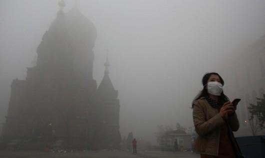 Harbin smog 1