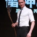 Tom Hiddleston Visits China