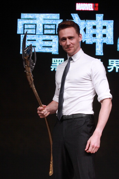 Tom Hiddleston Visits China