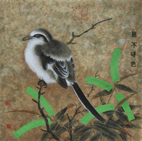 New Chinese art by Luo Ying