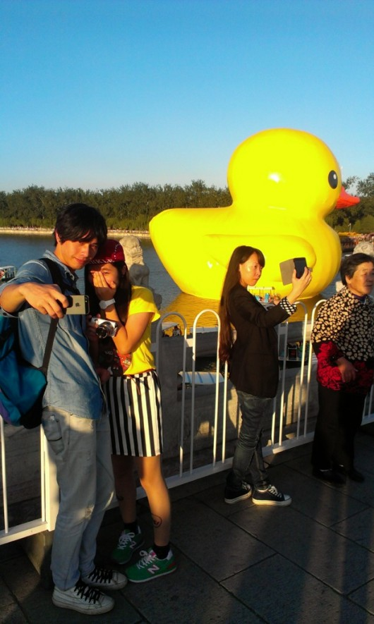 Rubber duck in Beijing by Chris Clayman 9