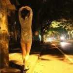 A Young Female Exhibitionist Is On The Loose In Shanghai