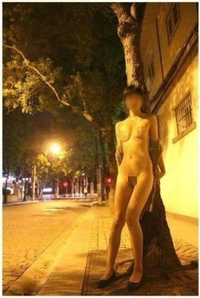 Shanghai exhibitionist 6