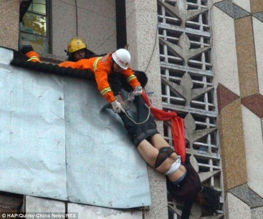 Hainan woman saved