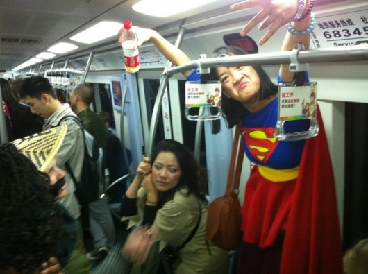 Halloween subway party 3