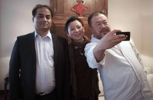 Ilham Tohti, Uyghur and Tybetanka Oser, Tibetan and Ai Weiwei, Han