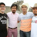 Manny Pacquiao in China