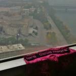 Pink underwear in Pyongyang