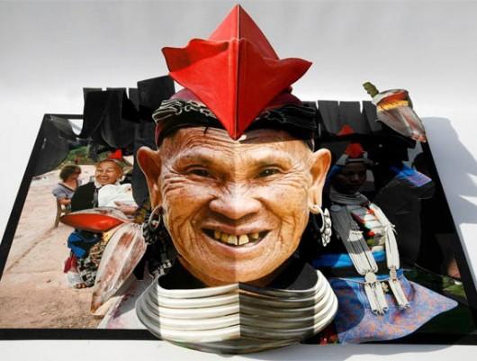Pop-up ethnic photos China