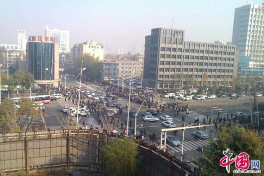 Shanxi Taiyuan explosion near CPC building 1