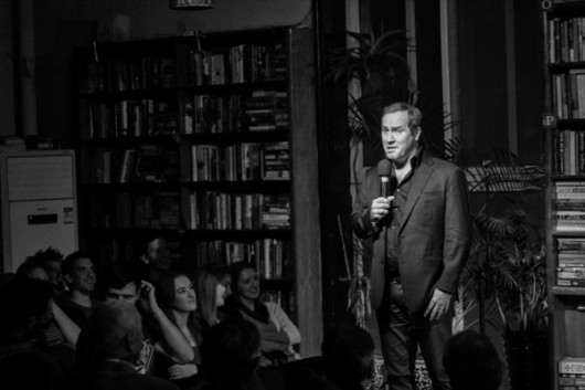 Tom Rhodes at the Bookworm in Beijing