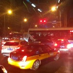 Traffic at Chunxiu Lu by Alicia