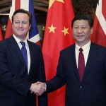 David Cameron in Beijing
