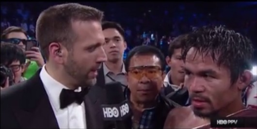 Donnie Does Pacquiao-Rios