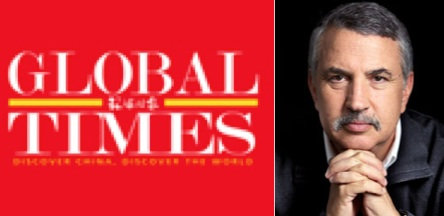 Global Times and Thomas Friedman
