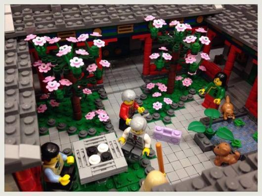 LEGO Hutong