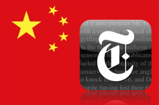 NY Times vs China