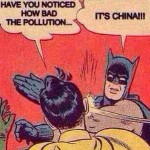 Pollution it's China