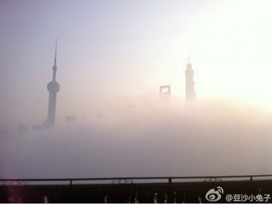 Shanghai smog