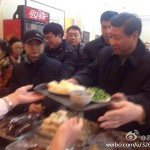 Xi Jinping at baozi shop