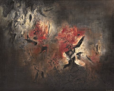 Zao Wou-ki - Abstraction