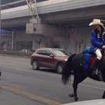 Awesome Chengdu Man Rides Home on Horseback