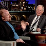 Letterman and Louis CK