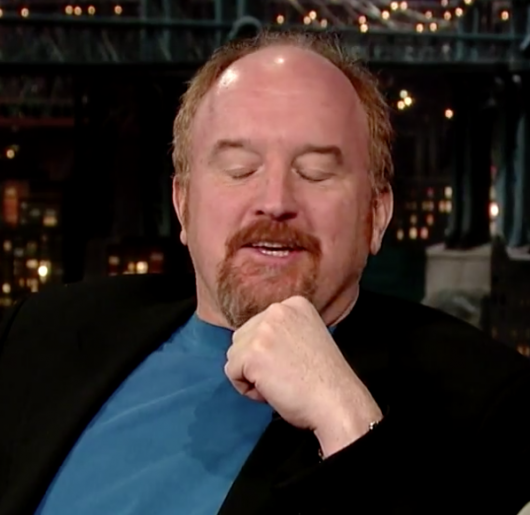 Louis CK not impressed