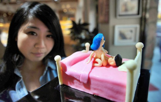 Sex-themed pastries from Shenyang