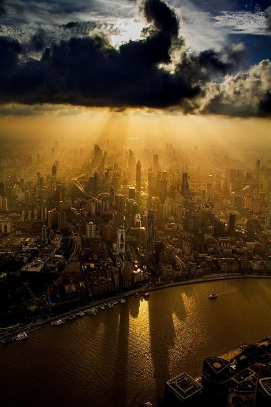 Wei Gensheng Shanghai crane pic 1
