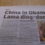 China in Obama Lama ding-dong