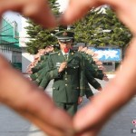 Valentine's Day Greetings From The Chinese People's Armed Police