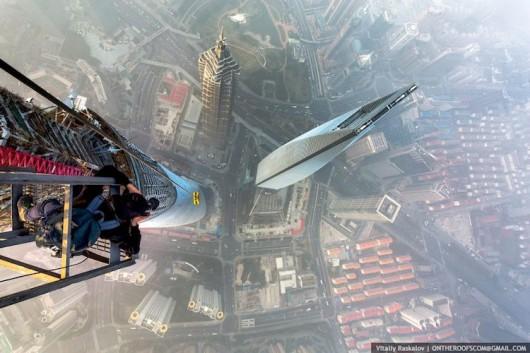 Shanghai Tower - top of