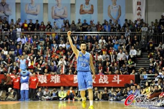 Beijing Ducks 2013-14 CBA champions