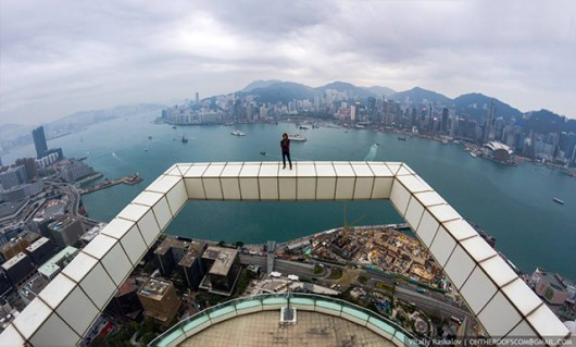 Hong Kong from up high