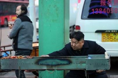 Kim Jong-un lookalike in China