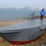 Miniature Liaoning aircraft carrier