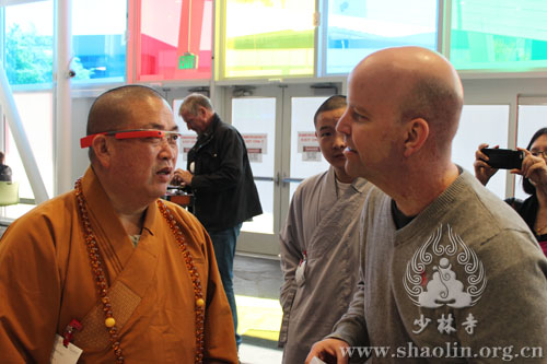 Shaolin monks at Google
