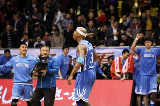 Stephon Marbury Beijing Ducks vs Guangdong 1
