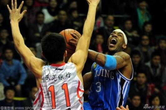 Stephon Marbury Beijing Ducks vs Guangdong 2