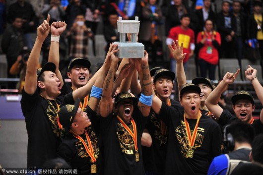 Stephon Marbury and Beijing Ducks win CBA title 3
