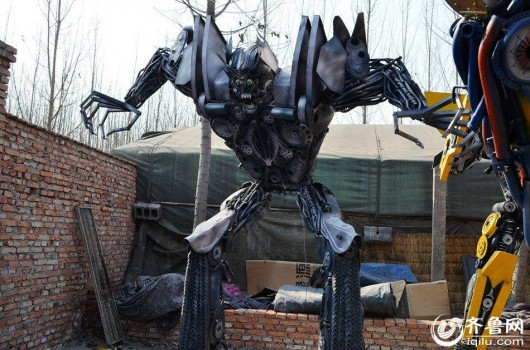 Transformer made by repairman in Jinan, Shandong 1
