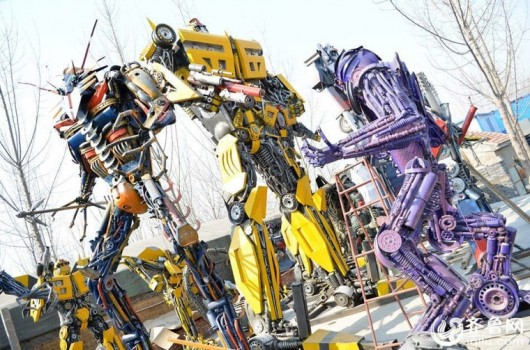 Transformer made by repairman in Jinan, Shandong 2