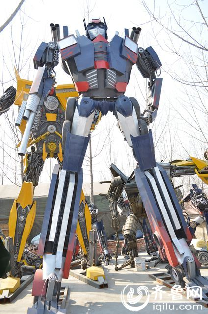 Transformer made by repairman in Jinan, Shandong 4