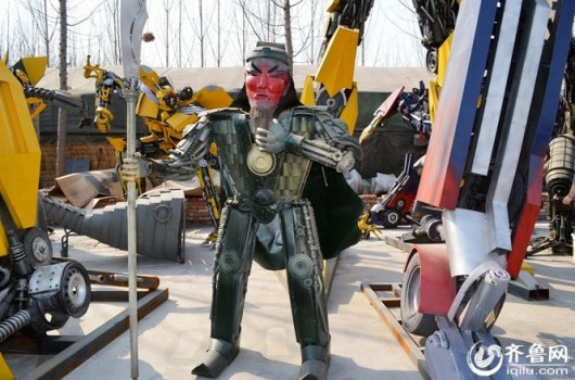 Transformer made by repairman in Jinan, Shandong 5