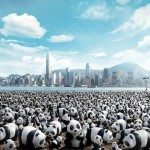 1600 pandas in Hong Kong
