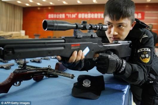 China's gun seize