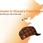 Foreigner douchebag orders from Sherpa's