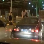 Foshan Carjacker Shot Dead By Police After Craziness At Checkpoint [VIDEO]